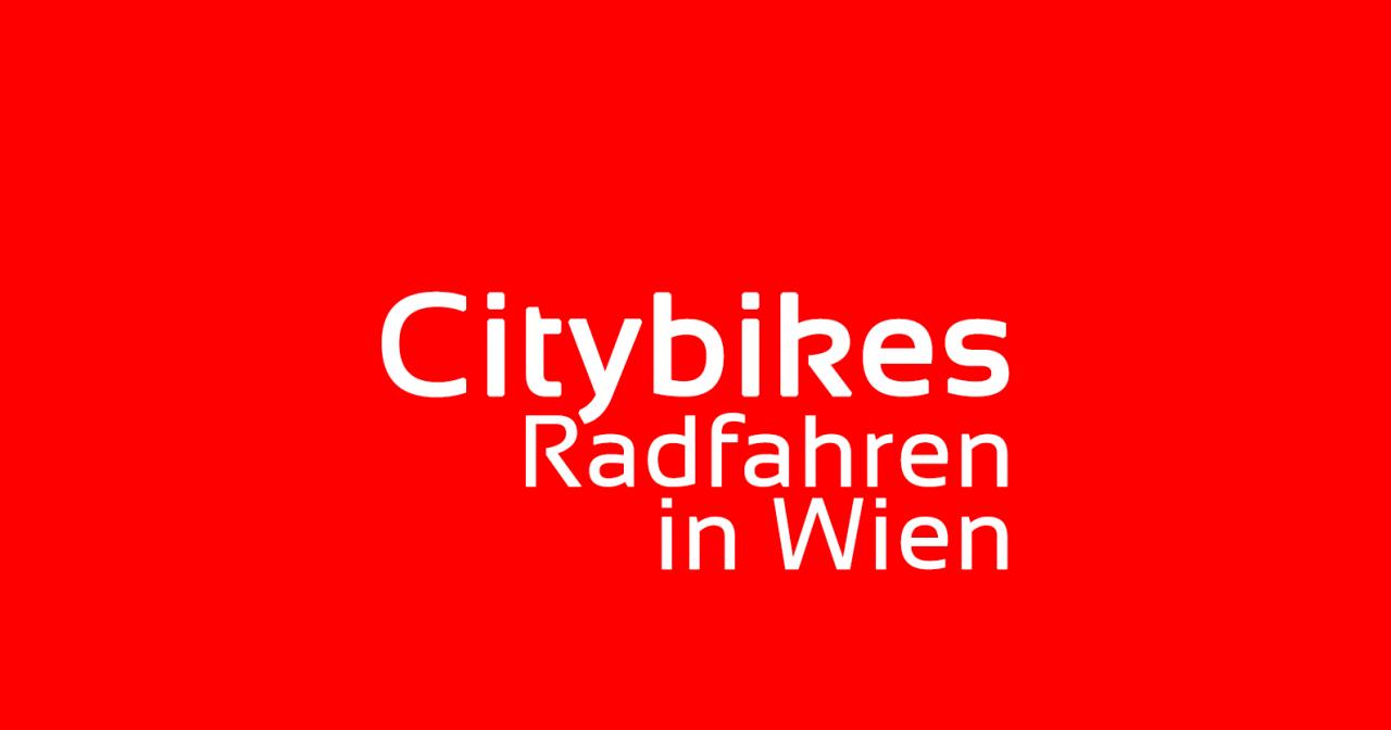Citybikes: Radfahren in Wien