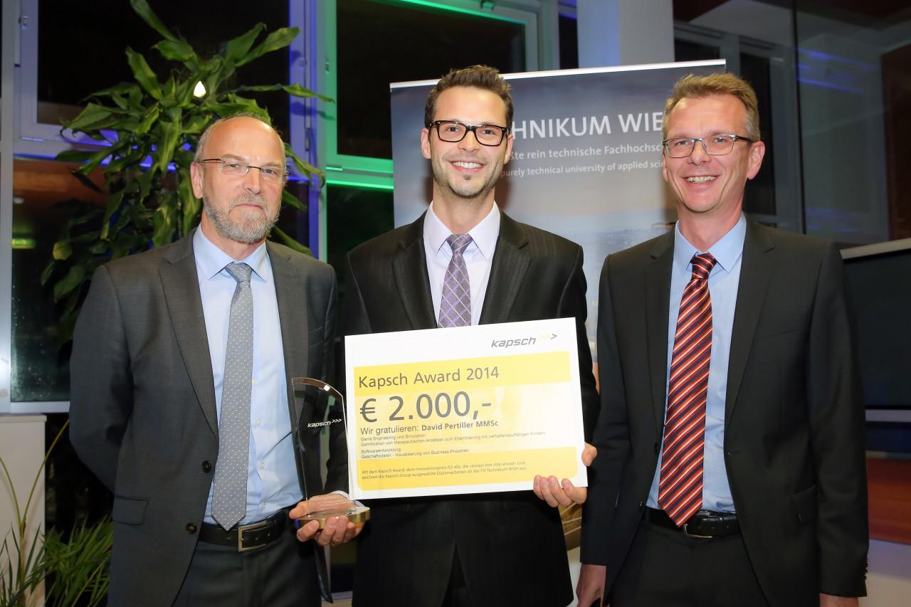 Kapsch Award David Pertiller